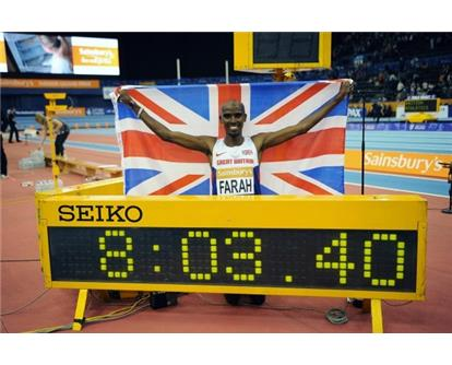 Mo 2 mile world record